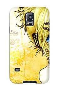 GpKyFbC9501yfYQC Case Cover Vocaloid Galaxy S5 Protective Case