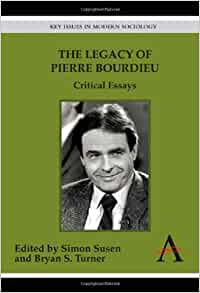 review essay on pierre bourdieu dimaggio Review essay: on pierre bourdieu'  paul dimaggio harvard university  a  brief essay on symbolic power (1977d), and his outline of a sociological theory.