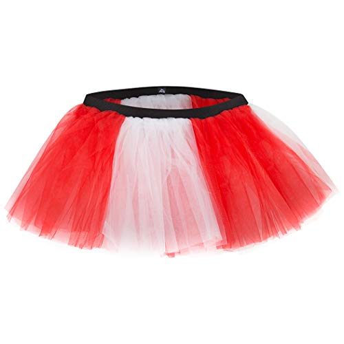 Gone For a Run Runners Tutu Lightweight | One Size Fits Most | Red and White