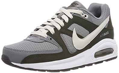 Nike Boys Air Max Command Flex (GS) Shoes, Cool Grey/Light Bone-Sequoia-White-Black, 35 1/2 EU (3.5 AU/US)