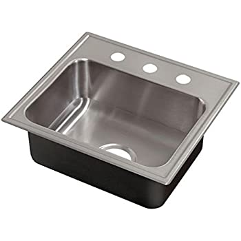 Just Sl1921a3 18 Gauge Single Bowl Drop In Sink With