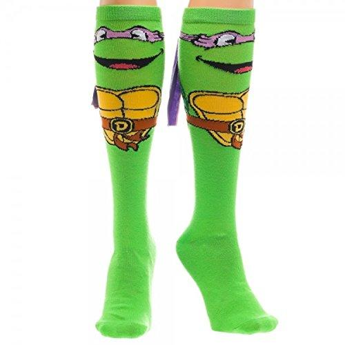 Teenage Mutant Ninja Turtles Michelangelo with Mask Knee High -