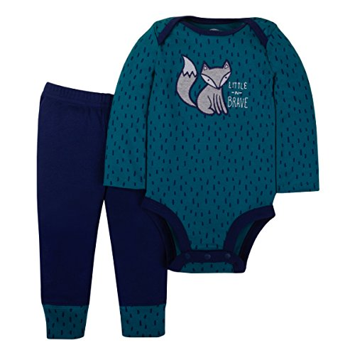 LAMAZE Organic Baby/Toddler Girl, Boy, Unisex Outfits, Gift Sets, Green, 18M