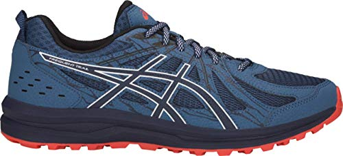 ASICS Frequent Trail Men's Running Shoe, Grand Shark/Black, 11 D US