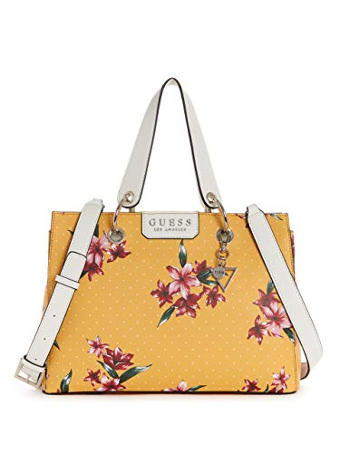 GUESS Factory Women's Bellamy Floral-Print Satchel