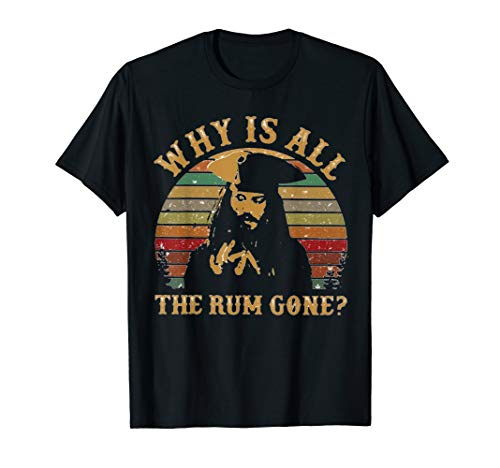 Why Is All The Rum Gone Vintage T-Shirt