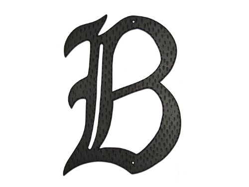 Montague Metal Products Home Accent Monogram, B, 24-Inch by Montague Metal Products