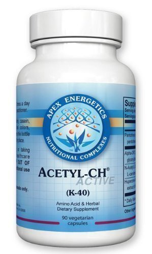 Apex Energetics   Acetyl Ch  K 40  90 Capsules
