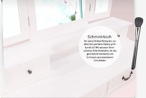 Schminktisch Frisiertisch Sabrina, 3 Spiegel - 3 klappbar, 7 ...