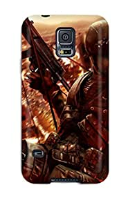 Tpu Angerspoon Shockproof Scratcheproof Tom Clancy Rainbow Six Vegas 2 Hard Case Cover For Galaxy S5