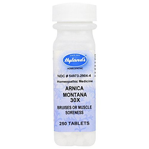 Hylands - Arnica Montana 30X 250 Tabs (Pack of 4) (Montana Tab 250 Arnica)