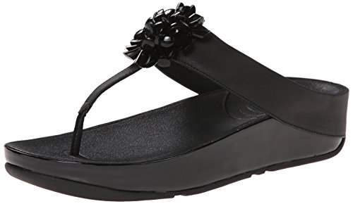 Women's FitFlop 'Blossom' Sandal, Size 7 M - Black