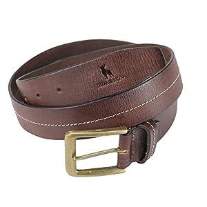 HIDE & SKIN # Marcos # Men's # 100% Genuine Leather # Handmade Belt # Free Size