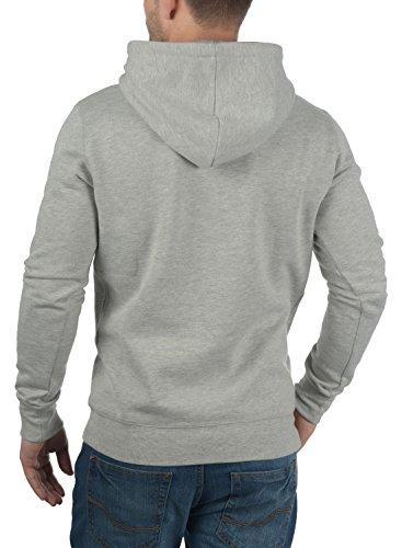 Capuche Bert Polaire Melange À 8242 Light Homme Grey solid Doublure Pour Hoodie Pull Sweat q4t7wg