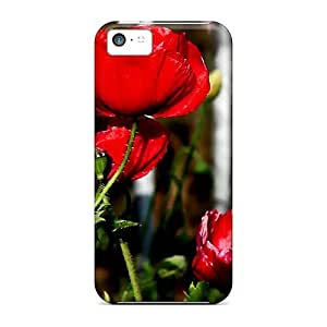 meilz aiaiPremium Protection Lovely Poppies Cases Covers For Iphone 5c- Retail Packagingmeilz aiai