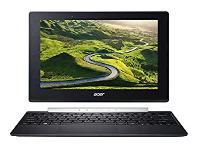"""2019 Acer Switch 10.1"""" Touchscreen 2-in-1 Tablet Convertible Laptop Computer, Intel Quad-Core Atom x5-Z8350 (1.44 GHz), 4GB RAM 64GB eMMC, Bluetooth 4.1, USB 3.1, Webcam, Windows 10 Professional"""
