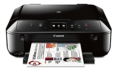 Canon MG6820 Wireless All-In-One Printer with Scanner and Copier: Mobile and Tablet Printing with Airprint and Google Cloud Print compatible, Black by Canon USA Inc.