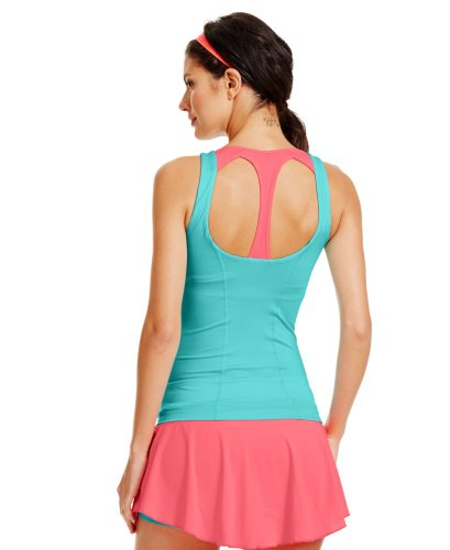 Womens UA Tennis Back In Action Tank