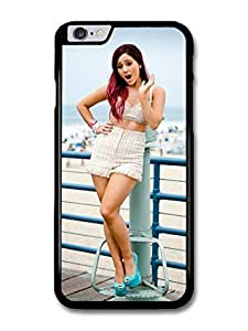 """AMAF ? Accessories Ariana Grande On The Beach Popstar Singer case for iPhone 6 Plus (5.5"""")"""