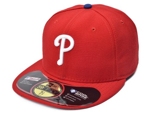 Philadelphia Phillies Red Game (New Era Philadelphia Phillies Hat Red (Game). Size: 8)