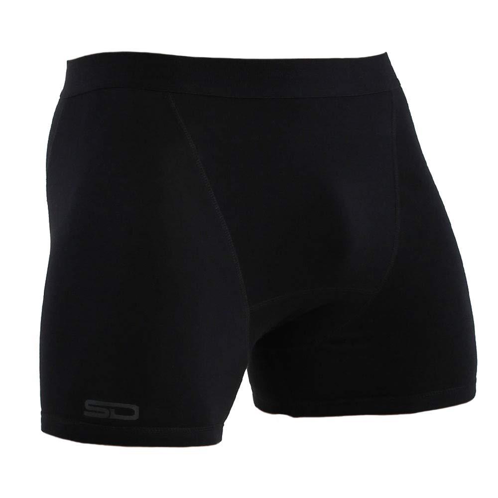 TALLA XS. Smuggling Duds Men's Stash Boxer Brief Shorts - Pickpocket Proof Travel Secret Pocket Underwear