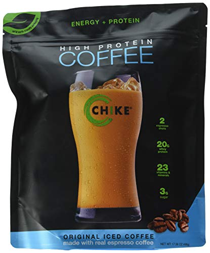 Chike High Protein Iced Coffee: Original, 14 Servings (16 Ounce)