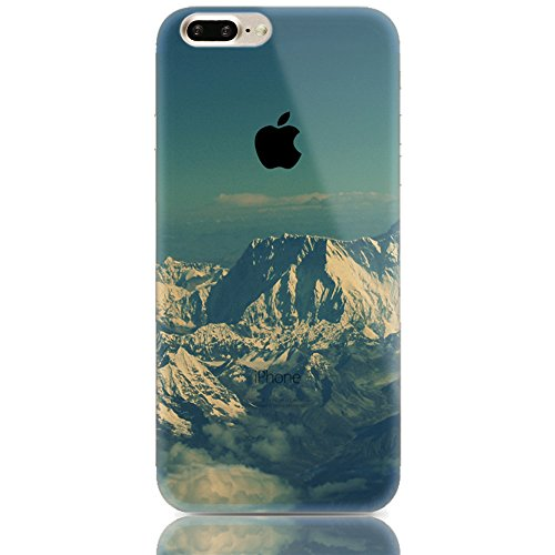Sunroyal® para iPhone 7 Plus 5.5 Funda Carcasa Case Cover Caja Premium Soft Fusión TPU Gel Elegante Chic y Suave Ultra Delgado Flexible Potectora Pantalla Práctica de Silicona Superior Transparente C B-13