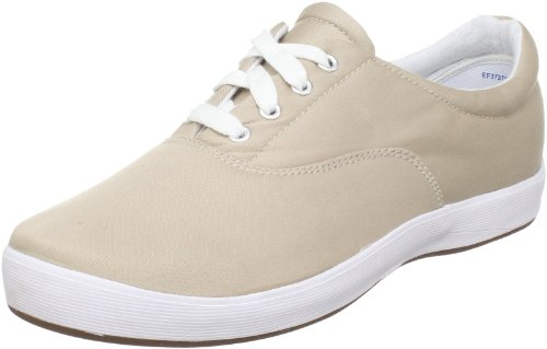 Grasshoppers Canvas Shoes (Grasshoppers Women's Janey Twill Lace-Up Sneaker,Stone,6.5 N US)