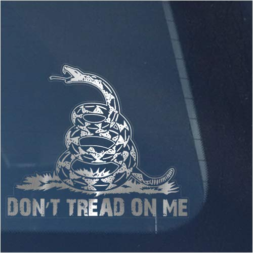 dont tread on me car emblem - 8