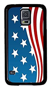 Flag Of The United States PC Black Hard Case Cover Skin For Samsung Galaxy S5 I9600