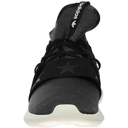 Adidas Originals Vrouwen Buisvormige Uitdagend Fashion Sneakers Zwart / Zwart-wit