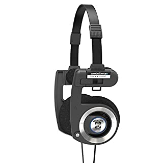 Koss Porta Pro Black On Ear Headphones with Case Black (B0755N6CSR) | Amazon Products