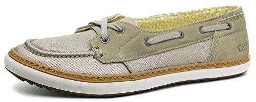 Caterpillar Luster Grey Womens Mocassin Slip On Shoes, Size 5