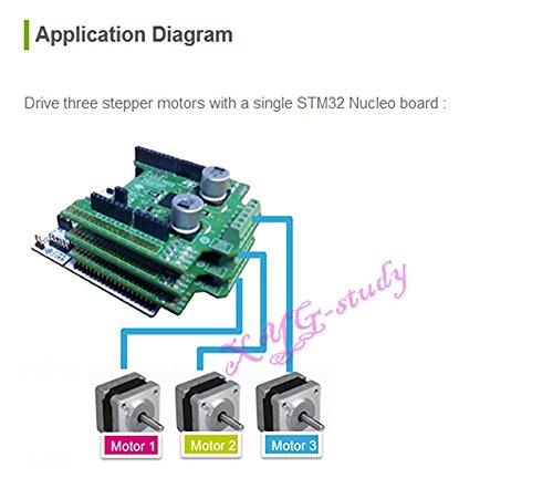 Xyg st x nucleo ihm03a1 high power stepper motor driver for High power stepper motor