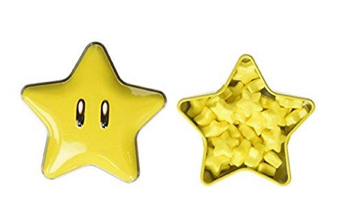 Super Mario Bros. Starman Candy Tin (1) (Toadstool From Mario)