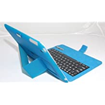 myBitti smart bluetooth keyboard case with back shell for iPad2 / iPad3 / iPad 4, BLUE (with high quality stylus pen)