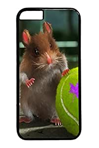 iphone 6 4.7inch Case iphone 6 4.7inch Cases Hamster Tennis Ball Animal Polycarbonate Hard Case Back Cover for iPhone 6 black