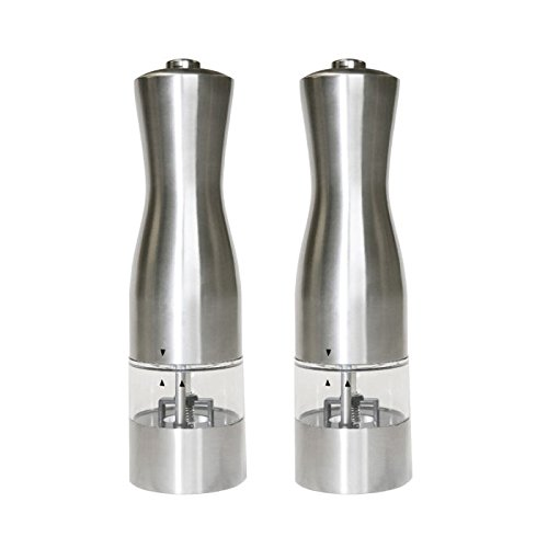 iTouchless Stainless Battery Powered Pepper product image
