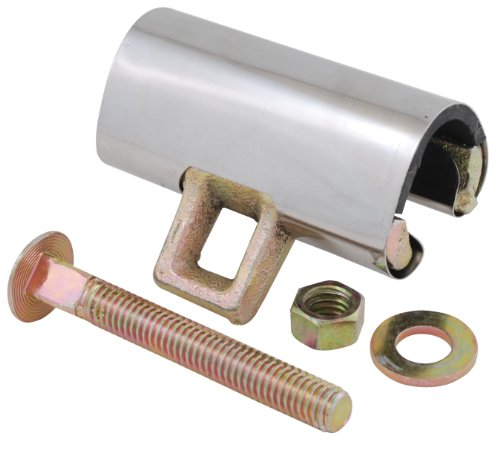 LDR Industries 610 2253 Galvanized Brass Repair Clamp, 1-1/2