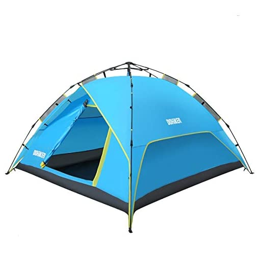 Dohiker-Large-3-4-Person-Pop-Up-Tent-Family-Camping-Tents-Backpack-Tents-Automatic-Pop-Up-Beach-Tent-Instant-Portable-Quick-Cabana-Sun-ShelterWater-Resistant-Ventilated-and-Durable