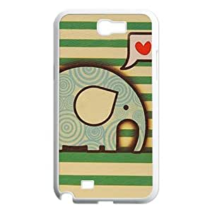 Generic Cell Phone Case For Samsung Galaxy note 2 case N7100 Cute Love Quote I Love You To The Moon Live the Life You Love the Life You Live Background Snap On Hard Plastic Protective Shell