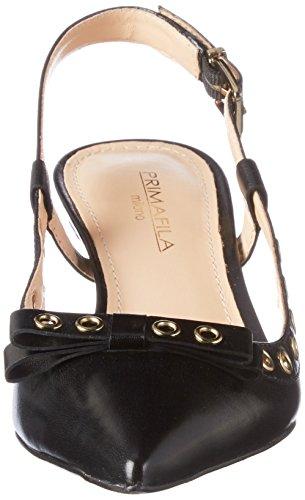 Primafila Women's 53.3.059 Sling Back Sandals Black (Black) DBcpeb