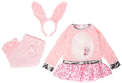 [Toddler Energizer Bunny Dress Costume - Size Toddler 4] (Energizer Bunny Costumes)