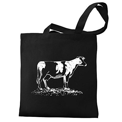 Canvas Cow Bag Canvas Tote sketch sketch Cow Eddany Eddany q6ZgwvU