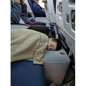Amazon Com Inflatable Travel Pillow Bed Leg Rest For Kids