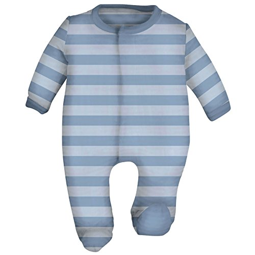 Magnetic Me Striped Velour Baby (Clark Kent Outfit)