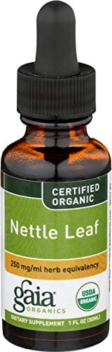 Gaia Herbs Nettle Leaf, 1-Ounce Bottle Pack of 2
