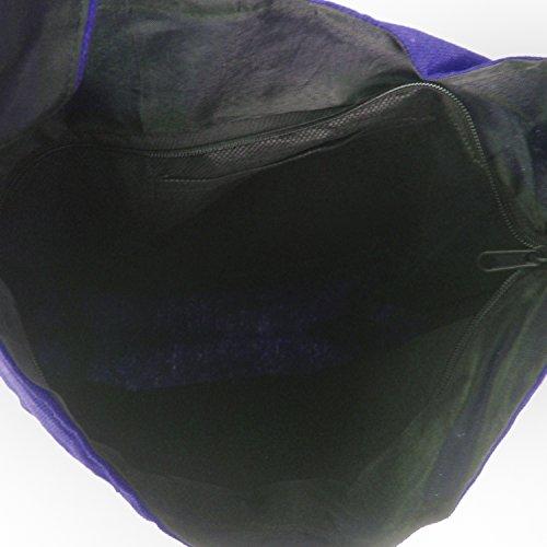 Visotruce Patch Handloom Cotone Jhola moda Tracolla Borsa