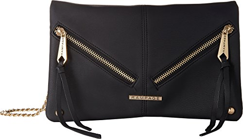 Womens Black Rampage Multi Compartment Crossbody dYqIRRwxf