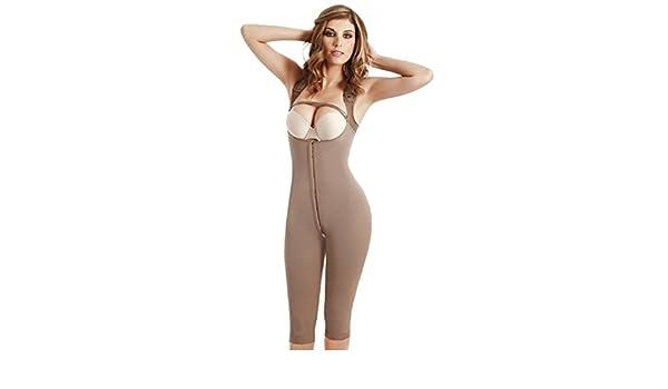 4ed37bc282e Fajas Colombianas Fajate CYSM 454 Full Body Shaper Post-Surgery Girdle 3  hooks (M) at Amazon Women s Clothing store